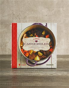 gifts: Le Creuset Casseroles Cookbook!
