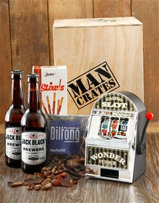 gifts: Wonder Vender Man Crate!