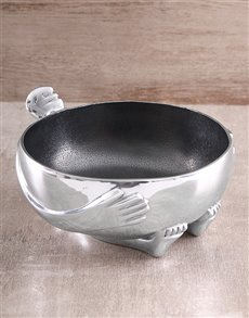 gifts: Carrol Boyes Salad Bowl!
