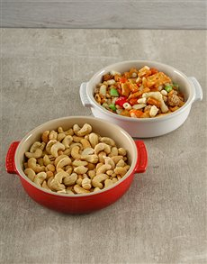 gifts: Le Creuset Set of Two Tapas Dishes!