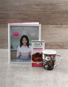 gifts: Simply Nigella Cookbook Hamper!