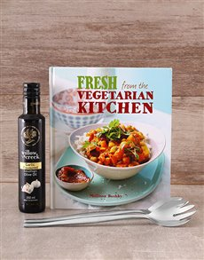 gifts: Fresh from the Vegeterian Kitchen Cookbook!