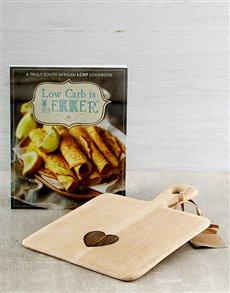 gifts: Low Carb is Lekker Cookbook Hamper!