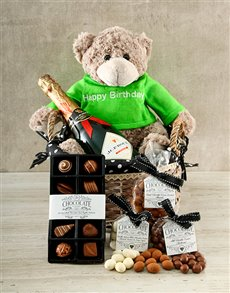 gifts: Birthday Chocolate and Champagne Hamper!