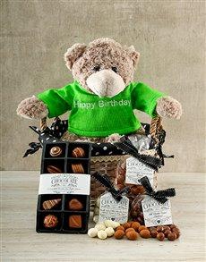 gifts: Birthday Beary Chocolate Hamper!