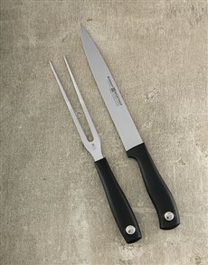 gifts: Silverpoint 2pc Carving Set!