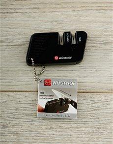 gifts: Wusthof Black Knife Sharpener!