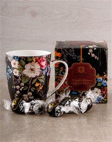 gifts: Delicate Floral Mug!
