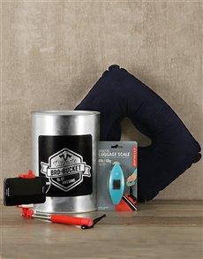 gifts: Travelers Bro Bucket!