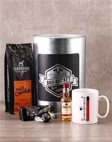 gifts: Barista Bro Bucket!