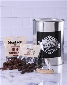 gifts: Biltong Knife Bro Bucket!