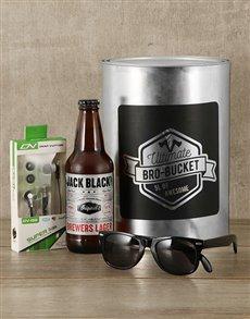 gifts: Summertime Bro Bucket Hamper!
