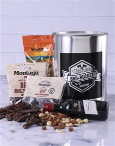 gifts: Wine & Biltong Bro Bucket!