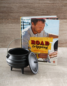 gifts: Justin Bonello Road Tripping Hamper!