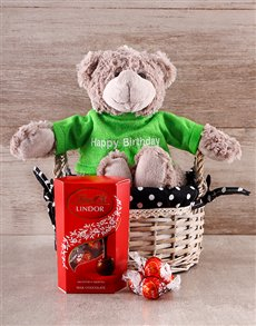 gifts: Lindor Birthday Teddy Combo!