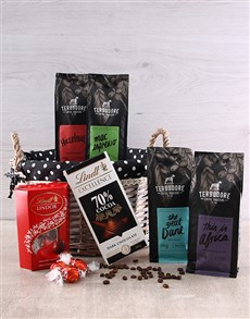 gifts: Heavenly Coffee and Choc Hamper!
