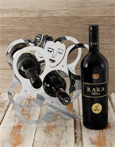 gifts: Carrol Boyes Wine Rack!