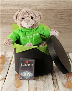 gifts: Birthday Teddy and Blessings Gift!