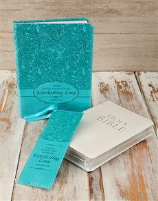 gifts: NLT Bible and Journal Gift Set!
