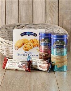 gifts: Gourmet Sweet Treat Basket!
