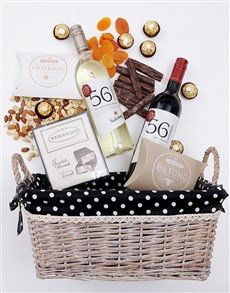 gifts: Wine Gourmet Snack Basket!