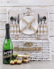 gifts: Merry Christmas Picnic Basket!