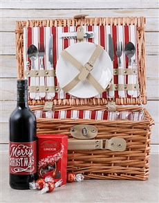 gifts: Merry Little Xmas Picnic Basket!