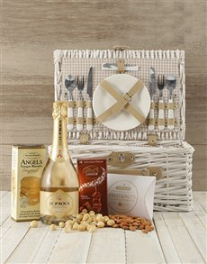 gifts: Cheers To Romance Picnic Basket!