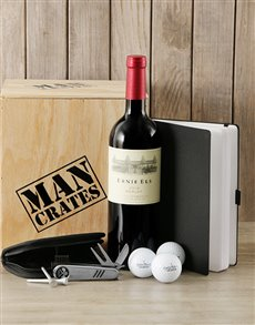 gifts: Golf Lovers Man Crate!