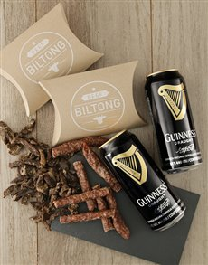 gifts: Biltong and Guinness Gift!