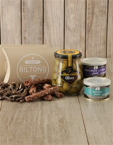 gifts: Biltong Olives and Pate Gift!