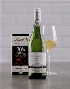 gifts: Sauvignon Blanc & Lindt Duo!