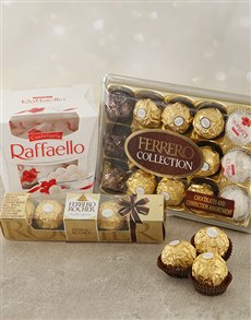 gifts: Festive Ferrero Hamper!