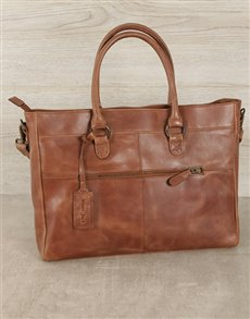 gifts: Jinger Jack Waxy Tan Casablanca Tote Bag!