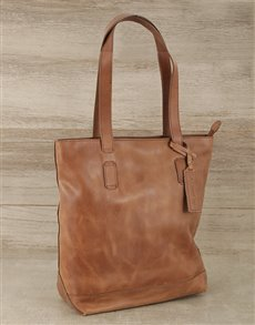 gifts: Jinger Jack Leather Shopper Handbag!