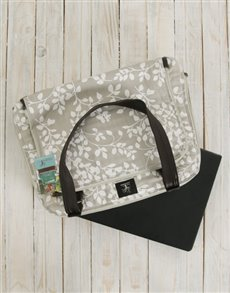 gifts: Peppertree Leaflet Latte Business Bag!