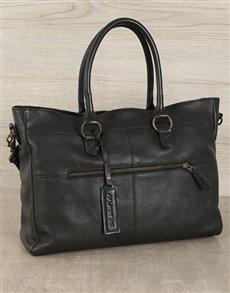 gifts: Jinger Jack Black Casablanca Tote Bag!
