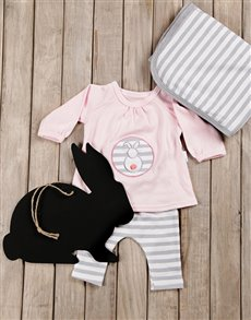 gifts: Some Bunny Loves You Baby Girl Gift Set!