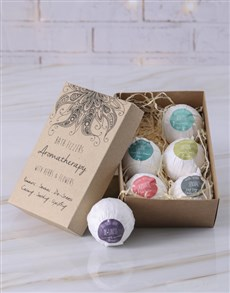 gifts: Aromatherapy Bath Fizzer Set!