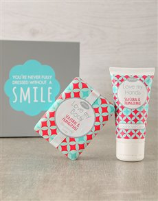 gifts: Sea Coral Hand Cream & Soap Duo!