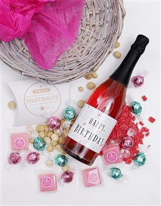 gifts: Bubbly Birthday Basket!