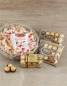 gifts: Ferrero Gift Basket!
