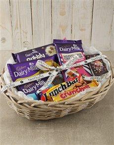 gifts: Cadbury Chocolate Hamper Basket!