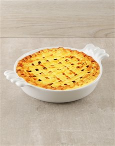 gifts: Carrol Boyes Ceramic Pie Dish!