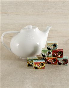 gifts: Carrol Boyes Swirl Teapot and Toni's Tea !