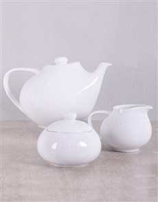 gifts: Carrol Boyes Swirl Tea Set!