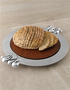 gifts: Carrol Boyes Bread Board!