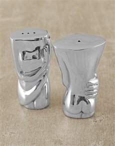 gifts: Carrol Boyes Torso Salt & Pepper Set!