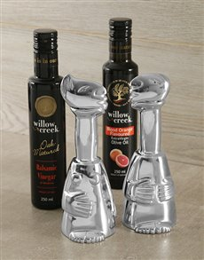 gifts: Carrol Boyes Oil and Vinegar Set!