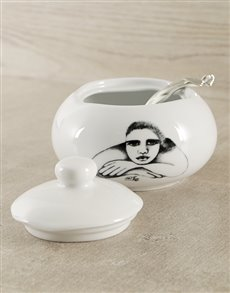 gifts: Carrol Boyes Sugar Bowl & Ladle!